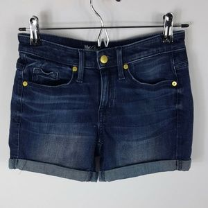 Mossimo High Rise Super Stretch Denim Jean Shorts